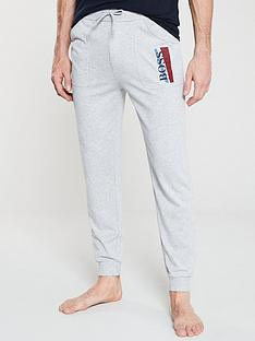 boss-bodywear-authentic-cuffed-lounge-pants-grey