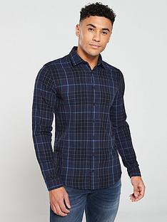 boss-mypop-2-long-sleeve-check-shirt-black
