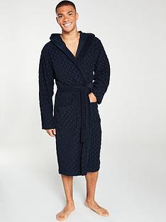 boss-bodywear-logo-towelling-robe-navy