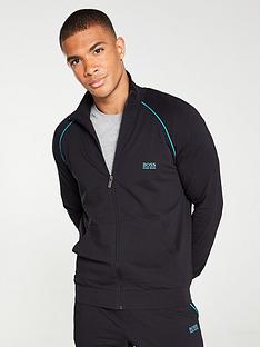 boss-bodywear-lightweight-zipped-lounge-top-black
