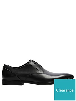 clarks-bampton-lace-up-shoes-black