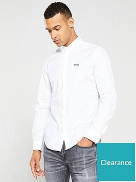 boss-biado-stretch-shirt-white