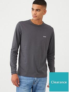 boss-togn-long-sleeve-t-shirt-grey
