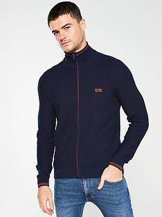 boss-boss-zodney-zip-through-textured-knit-jumper