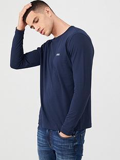 boss-togn-long-sleeve-t-shirt-navy