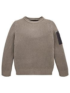 lyle-scott-boys-ribbed-knitted-jumper-grey
