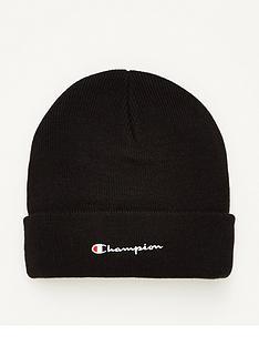 champion-beanie-black