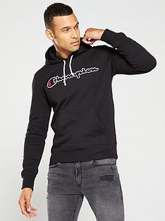 champion-overhead-hoodie-black