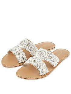 accessorize-rosario-circle-embellished-sliders-white