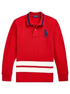 ralph-lauren-boys-long-sleeve-big-pony-polo-shirt-red