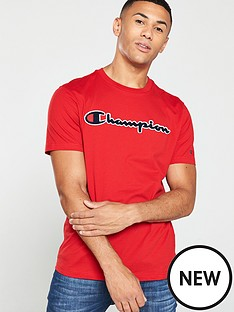 champion-t-shirt-red