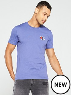 champion-c-logo-t-shirt-blue