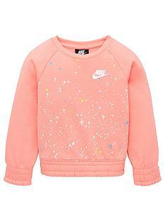 nike-nike-childrens-girls-starry-night-sweatshirt-pink