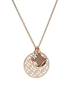 fossil-fossil-rose-gold-double-disc-pendant-ladies-necklace