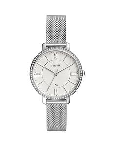 fossil-fossil-jacqueline-silver-date-dial-stainless-steel-mesh-strap-ladies-watch