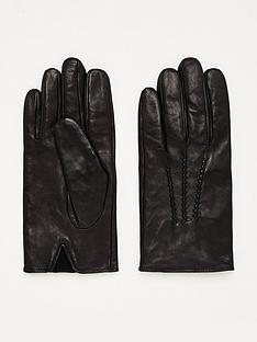 boss-grifin-leather-gloves-black
