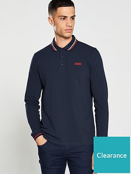 hugo-donol194-long-sleeved-polo-shirt-navy