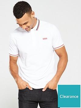 hugo-daruso194-tipped-polo-shirt-white