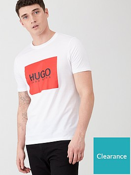 hugo-dolive194-logo-t-shirt-white