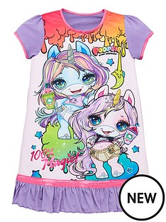 poopsie-toddler-girls-poopsie-the-unicorn-nightie-multi