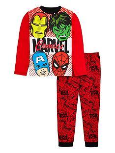 marvel-avengers-unisex-foil-pyjamas-red