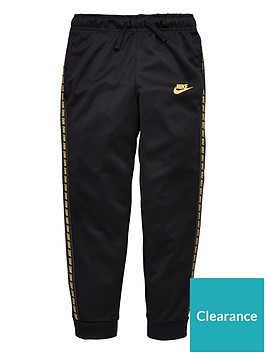nike-childrens-nsw-taped-jog-pants-blackgold