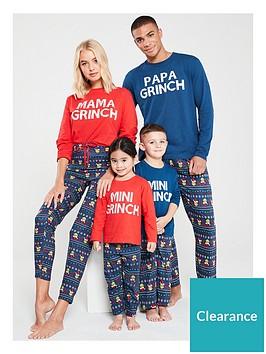 the-grinch-boys-mini-grinch-family-christmas-pyjamas-navy