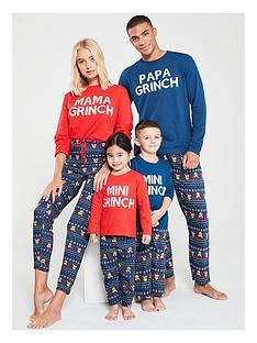 the-grinch-boys-mini-grinch-family-pyjamas-navy