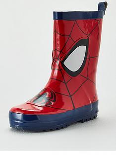 spiderman-toddler-boysnbspwellie-red-blue