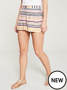 river-island-river-island-tie-front-beach-short-pink