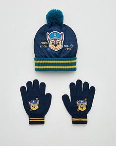 paw-patrol-toddler-boys-hat-and-gloves-set-multi