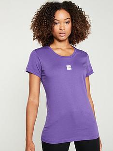 the-north-face-short-sleeve-fine-tee-purplenbsp