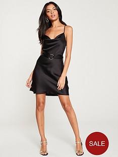 river-island-belted-slip-dress--black