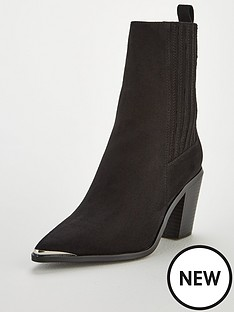v-by-very-rogue-western-block-heel-point-calf-boots-black