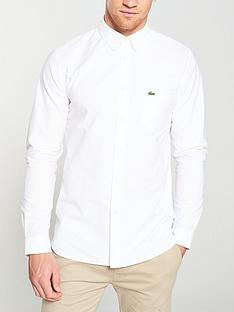 lacoste-sportswear-long-sleeved-oxford-shirt-white