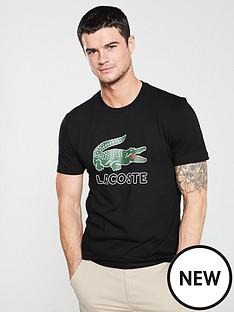 lacoste-sportswear-large-logo-t-shirt-black