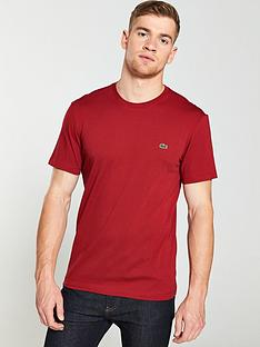 lacoste-sportswear-small-logo-t-shirt-red