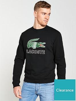 lacoste-sportswear-big-croc-logo-sweatshirt-black