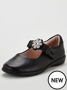 62b8fc33f79f8 Lelli Kelly Girls Buttercup Dolly School Shoes - Black Leather