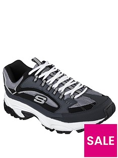 skechers-stamina-cutback-trainers-blackcharcoal