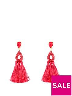 kate-wright-neon-tasselnbspearrings-pink