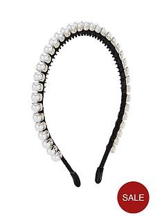 v-by-very-thin-pearl-trim-headband-ivory