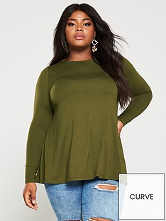 v-by-very-curve-jersey-long-sleeve-top--nbspgreen