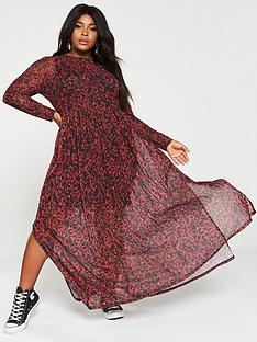v-by-very-curve-mesh-maxi-dress-animal-print