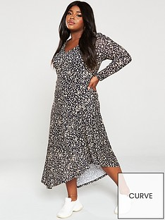 v-by-very-curve-slub-asymmetric-jersey-dress-animal-print