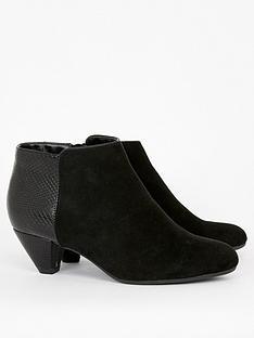 evans-extra-wide-fit-antigua-shoeboot-black