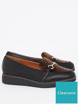 evans-evans-extra-wide-fit-leopard-reece-loafer