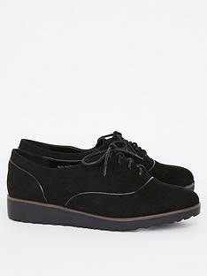 evans-wide-fit-rolo-lace-up-shoes-black