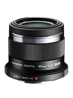 olympus-olympus-mzuiko-digital-45mm-118-et-m4518-lens-black
