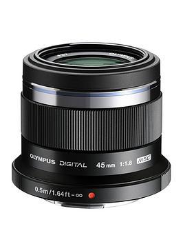 olympus-olympus-mzuiko-digital-45mm-118-et-m4518-lens-black